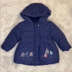 M&S Baby girl jacket - size 6-9 months